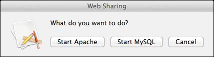 Mein Web-Sharing-AppleScript.